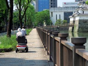 鹿児島 電動車椅子 セニアカー シニアカーの使い方