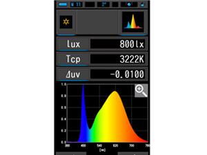セコニック 分光式カラーメータ 表示正常