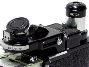 ニコン 携帯顕微鏡 H型 つまみ 正常作動