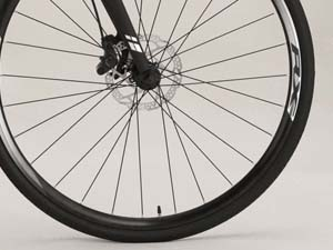電動アシストクロスバイク タイヤすり減り無し
