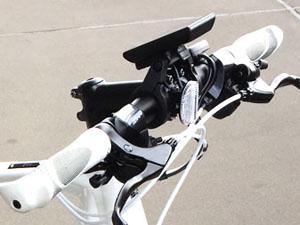 電動アシストクロスバイク ハンドル