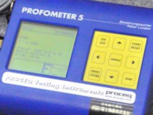 プロセク 鉄筋探査機 プロフォメーター 測定正常
