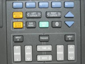 スコープメーター ボタン操作正常