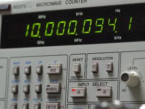 マイクロ波カウンタ 測定不具合無し