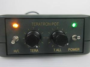 テラトロン 基本設定可能