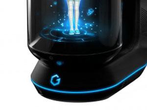 バーチャルホームロボット Gatebox 電源