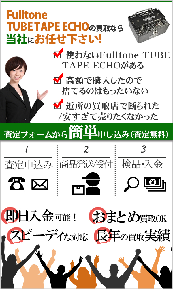 Fulltone TUBE TAPE ECHO 高価買取