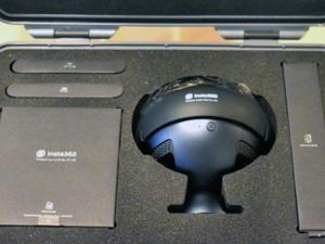 ハコスコ Insta360 Pro 付属品一式