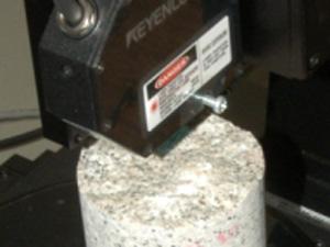 高精度形状測定システム 計測正常