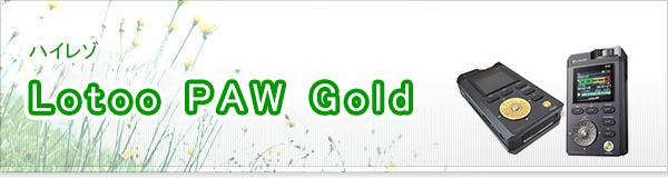 Lotoo PAW Gold買取
