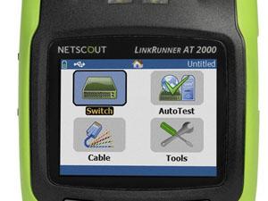 ネットスカウト NETSCOUT AirCheck Wi-Fiテスター ディスプレイ正常