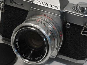 トプコン カメラ レンズ傷なし