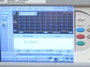 アジレント 光波長計 測定正常