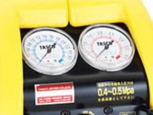 タスコ TASCO フロンガス回収機 メーター