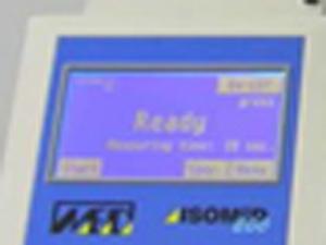 ANNA 食品中放射能検査装置 NaIシンチレーション ディスプレイ正常