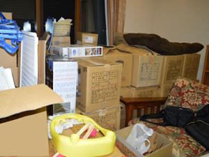 ご自宅、店舗・会社・工場など買取商品を持ち出しやすい様に整理整頓しておく