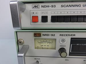 JRC(日本無線)受信機 データの受信