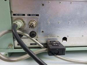 JRC(日本無線)受信機 ケーブル接続