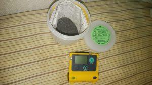 ガス検知器 備品