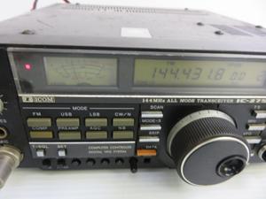 モービル無線機 受送信問題なし