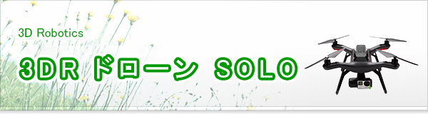 3DR ドローン SOLO買取