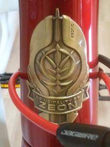 シャア専用ロードバイク