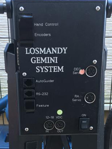 Losmandy ロスマンディー 赤道儀 設定 動作 スムーズ