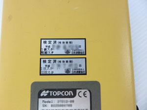 トプコン TOPCON GPS受信機 校正 シール