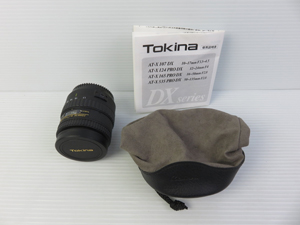 Tokina トキナー AT-X 付属品一式