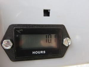 ZAOH 蔵王産業 ハイパワー超高速振動ポリッシャー アワーメーター
