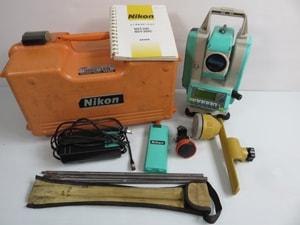 Nikon ニコン トータルステーション 器機一式