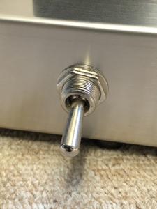 真空管アンプ 電源スイッチ