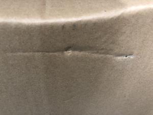 元箱の傷 凹み 破れ