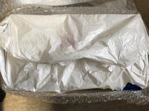 ドローン 梱包 エアパッキンで包む
