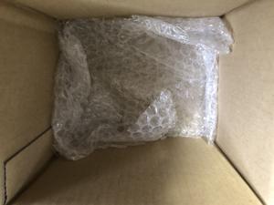 ミリタリーウォッチ 梱包 エアパッキン