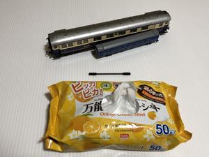 鉄道模型 清掃 万能クリーニングシート 綿棒