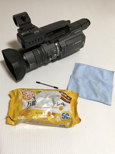業務用ビデオカメラ 万能クリーニングシート 専用クロス 綿棒 汚れ とる