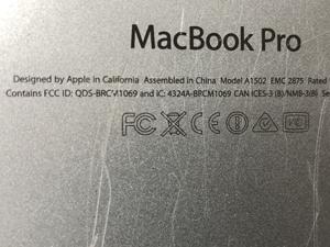 MacBook Pro スレ 小傷