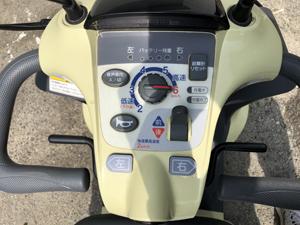 電動車椅子 セニアカー シニアカー 各スイッチ、レバー