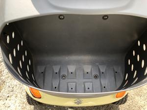 電動車椅子 セニアカー シニアカー 前かご ゴミ
