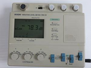 リオン RION 振動計 VM-52 ピックアップ 測定