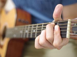 アコースティックギター ネック