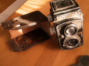 古いオリンパスカメラ