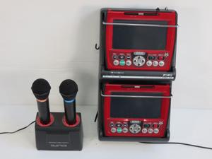 第一興商 カラオケセット DAM XG5000 AD5000 マイク