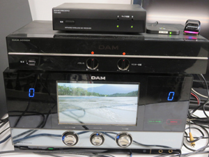 第一興商 カラオケセット DAM XG5000 AD5000 通信機能