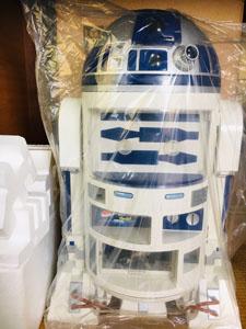 R2D2冷蔵庫 立てて梱包