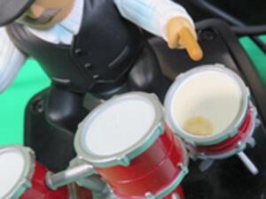 ドラム 黄色いシミ