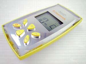 テクノリンク製品の美容機器 表示