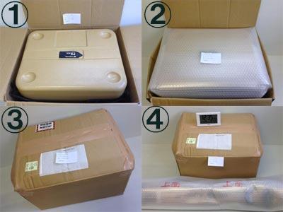 測量機器の梱包例