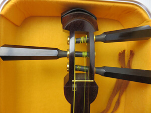 三味線 調弦
